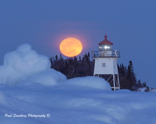 Moonrise over Artist Point by Paul Sundberg.