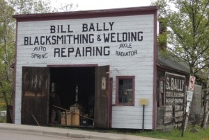 A Small Talk about the Bally Blacksmith Shop will be held on Saturday.
