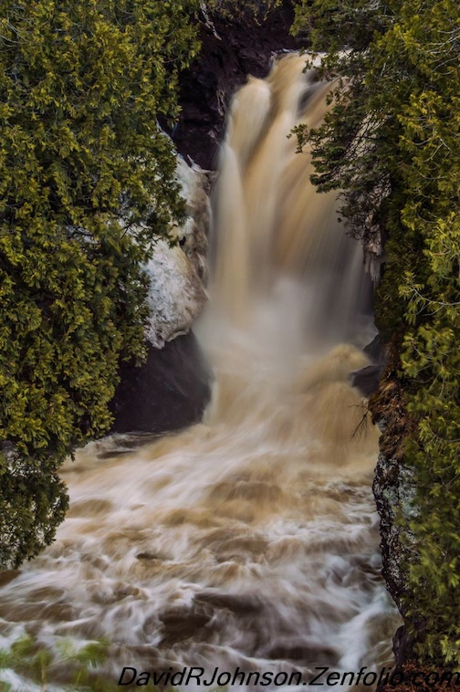 Cascade Falls by David Johnson.