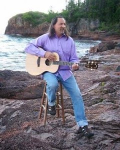 Briand Morrison performs at the library at 6 p.m. Thursday.