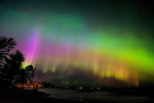 Photo by Kirk Schleife, taken by Island Lake near Duluth,
