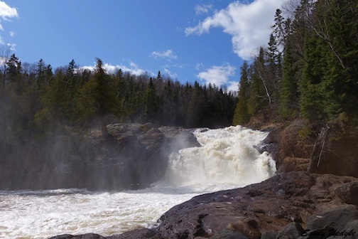 sandra updyke upper falls of the brule river