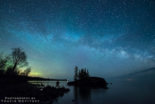 Travis Novitsky took this incredible photograph of the Milky Way the other night.