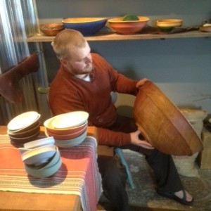 Woodturner Cooper Ternes opens his gallery and studio at Joy & Co.this weekend.