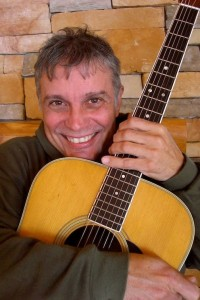 Hans Meyer plays at the Grand Marais Public Library on Thursday.