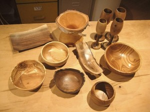 Wood turning by Glen