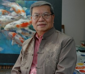 Cheng-Khee Chee will give a painting demonstration at the Tweed on Thursday.