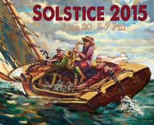Sivertson Gallery will have a Solstice Party on Saturday.