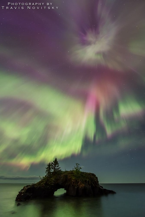 travis solar storm explosion