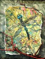 """Cool Garden Darner"" by Anna Hess."