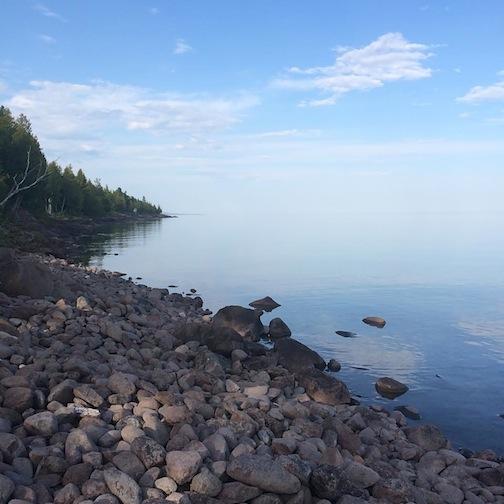 Lake Superior by Ann Kerber.