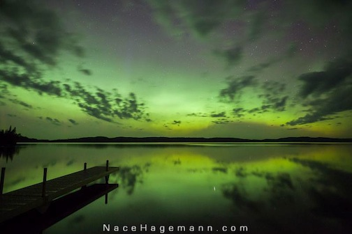 Northern Lights July 23 by Nace Hagemann.