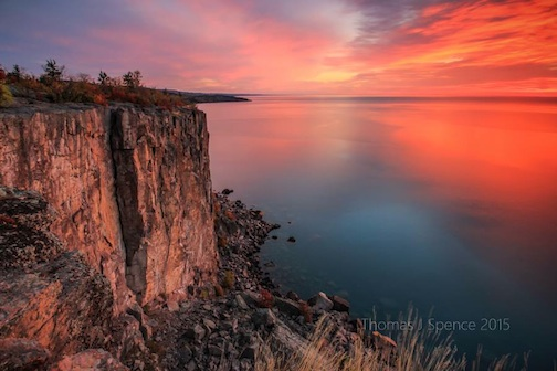 Palisade Sunrise by Thomas Spence.