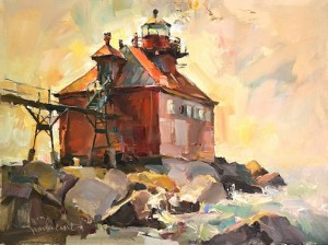 Plein air painter Tom Nachreiner is the awards juror this year. He will teach a class at the Art Colony Sept.