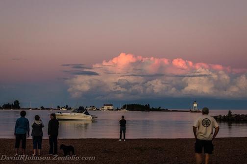 Summer Clouds by David Johnson.