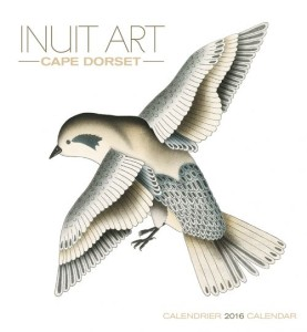 The new Cape Dorset calendar has arrived at Sivertson Gallery.