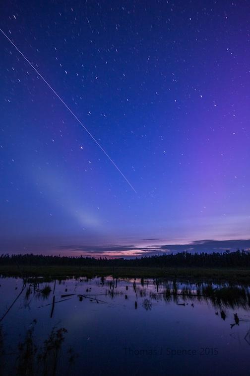 Night Sky by Thomas Spence.
