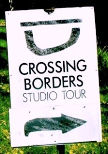 Look for the Crossing Borders signs.