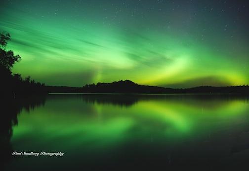 Fall Aurora by Paul Sundberg.