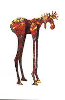 Sculpture by Tom Christiansen.