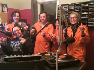 A Random Acts of Poetry crew stop off at Lakehead Unversity Radio to recite a poem or two.