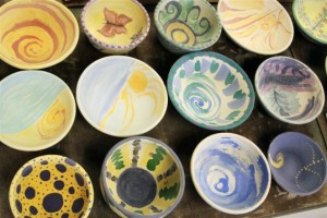 Paint A Bowl for Empty Bowls is this Sunday.