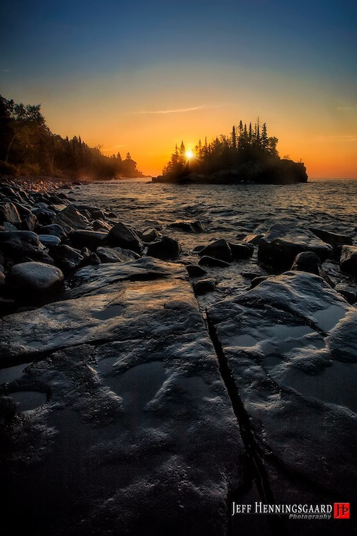"""Lake Superior Morning"" by Jeff Henningsgaard."