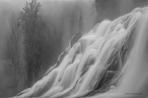 """""""Falls in the Fog"""" by Kirk Schleife."""