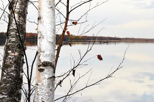Fall Fisherman by Pat Kullberg.
