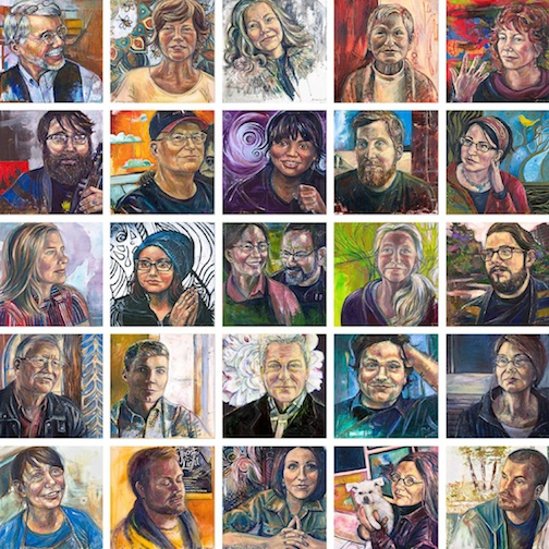 """""""Portrait of An Artist"""" opens at the Duluth Art Institute Oct.15."""