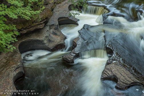 Presque Isle Potholes by Travis Novitsky.