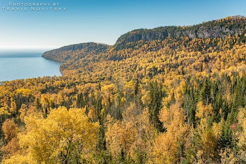 """A Beautiful Fall Day"" by Travis Novitsky."