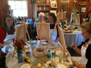 Sue Pavlatos will teach a painting class at Kah-Nee-Tah Gallery on Friday and Saturday.
