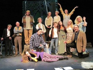 "The cast from the Grand Marais Playhouse production of ""As You Like It."""