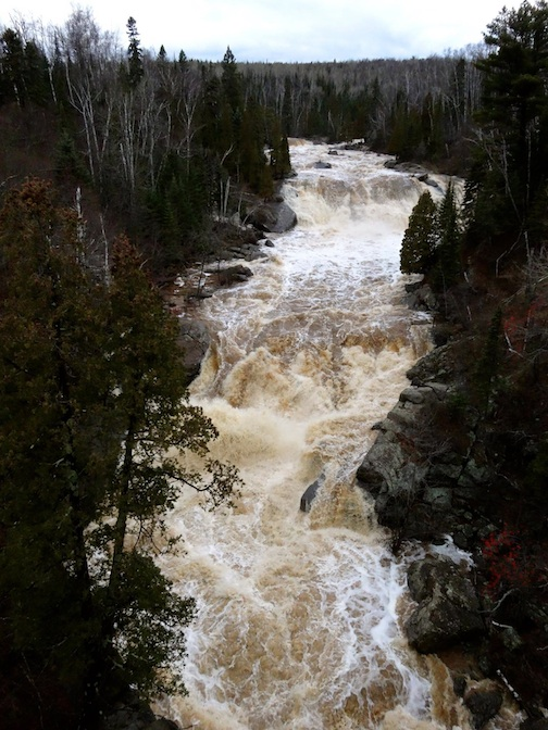 Mary Jane Van den Heuvel took this shot of the Beaver River on Wednesday afternoon.