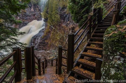 """""""Cascade Beauty"""" by David Johnson."""
