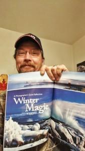 Jamie Rabold & the latest issue of Lake Superior Magazine.