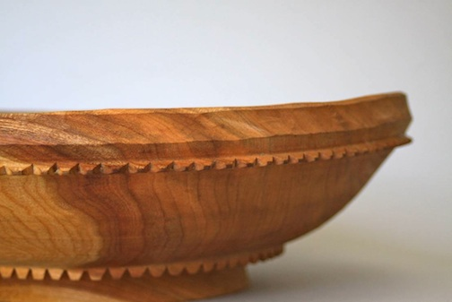 Hand-turned bowl by Cooper Ternes.