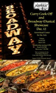 curry cook off & broadway musical showcase