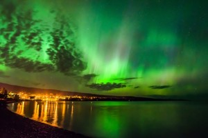 """East Bay Aurora"" by David Johnson."