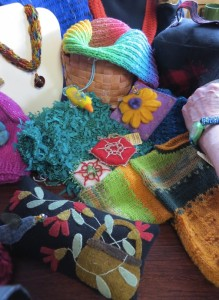 Here are just a few of the items that will be for sale at the Northwoods Fiber Guild's annual sale.