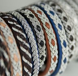 Sivertson Gallery will have a trunk show of Tradsaga, Sami-inspired bracelets by Sally Sexton.