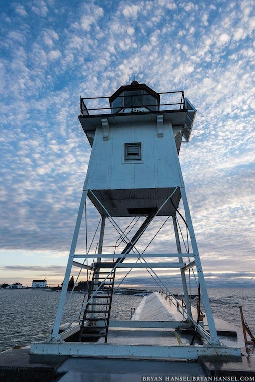 Grand Marais Lighthouse.