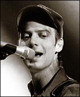 Erik Koskin performs at Papa Charlie's on Monday night.