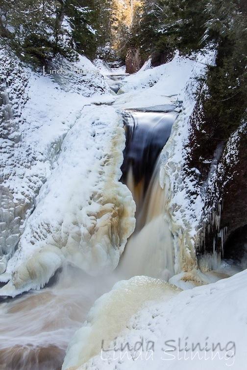 Gorge Falls by Linda Kangas Slining.