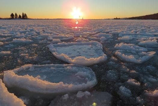 Ice pancakces by Lisa Meyers McClintick.