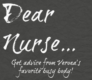 Get advice from Verona's favorite busy body!