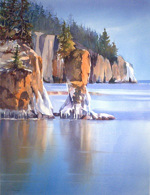 """Ice Reflections"" by Catherine Hearding."