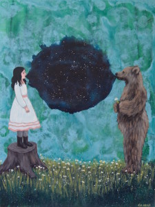 """Speaking with Bears"" by Shawna Gilmore."
