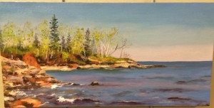 """Lake Superior Landscape:Spring in Castle Danger"" by Sandi Pillsbury-Gredzens."